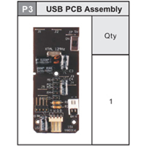 03-535USBP3 USB PCB Assembly