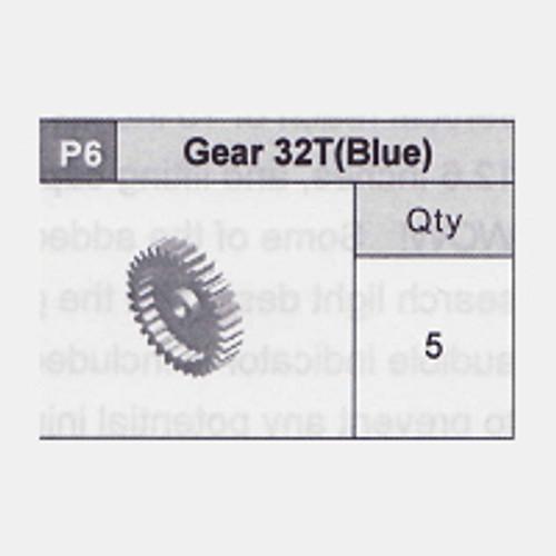06-5350P6 Gear 32T (Blue)