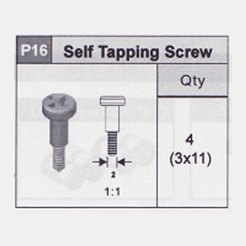 16-5350P16 Self Tapping Screw (3x11)