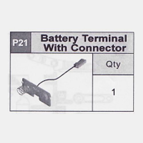 21-5350P21 Battery With Terminal With Connector
