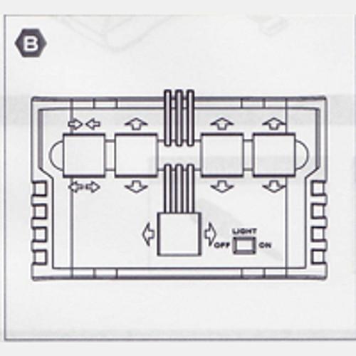 36-535WCBPPB Plastic Part B (Wired Control Box)