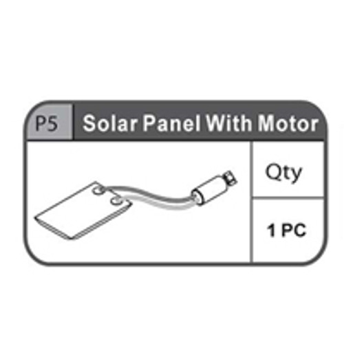 05- 67000P5 Solar Panel With Motor