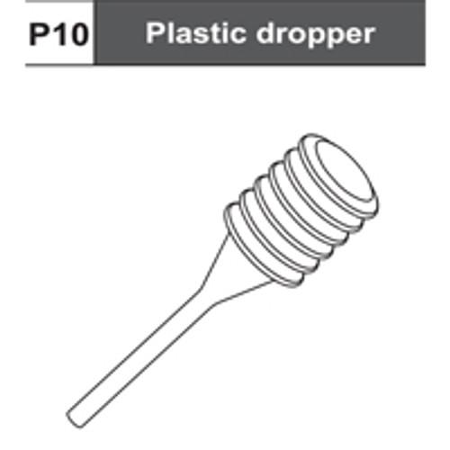 07-75400P10  Plastic Dropper