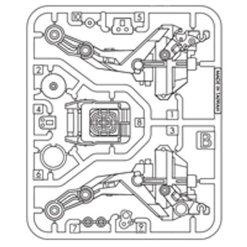 10-75400PPB  Plastic Part B