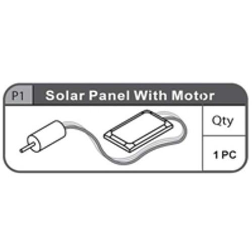 01- 67100P1  SOLAR PANEL With MOTOR