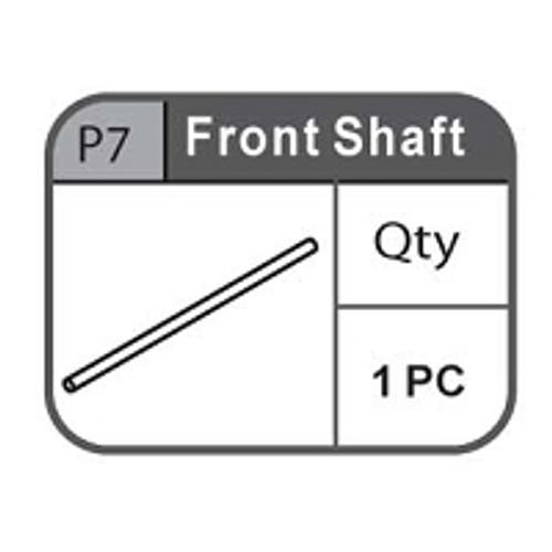 07- 67100P7 Front Shaft