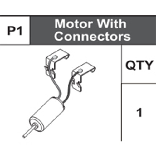 01-75100P1 Motor With Connectors
