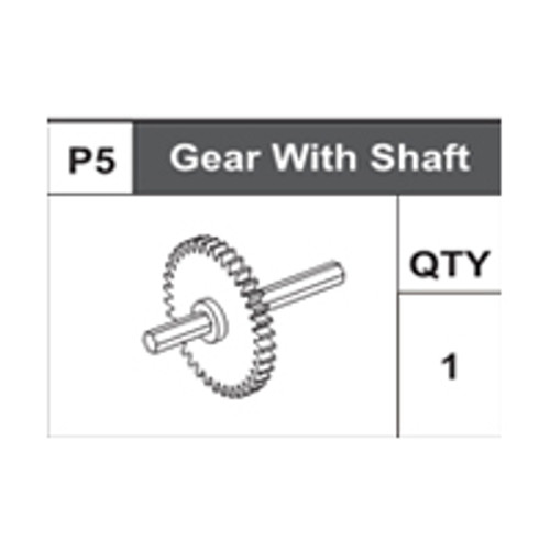 05-75100P5 Gear With Shaft
