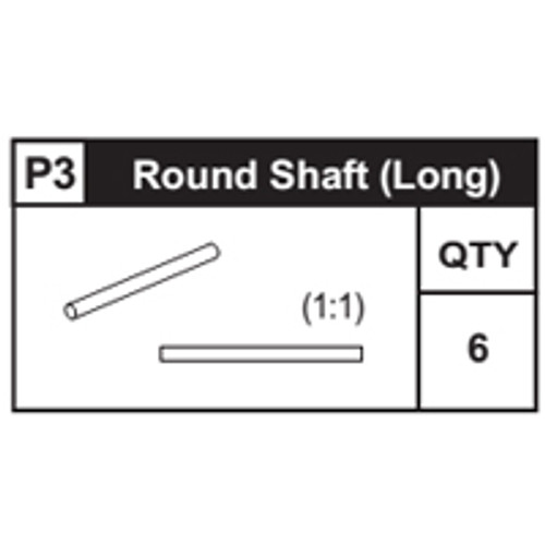 03-63300P3 Round Shaft (Long)