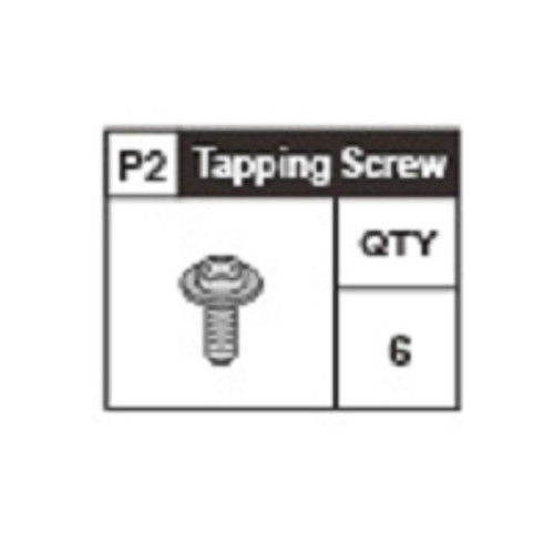02-6310P2 Tapping Screw