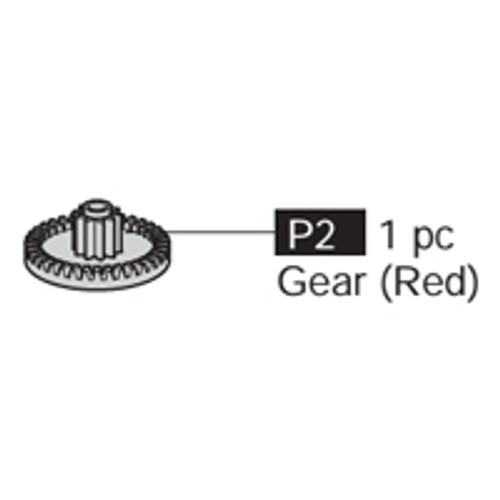 02-69100P2  Gear (Red)