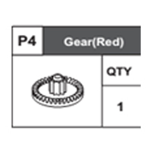 04-68400P4 Gear (Red)