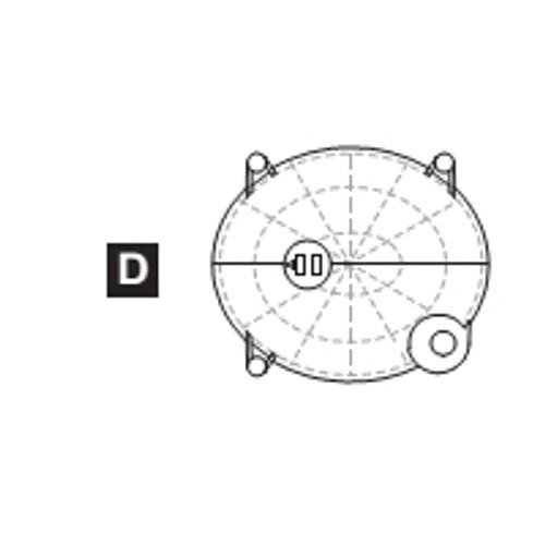 15-68400PPD Plastic Part D