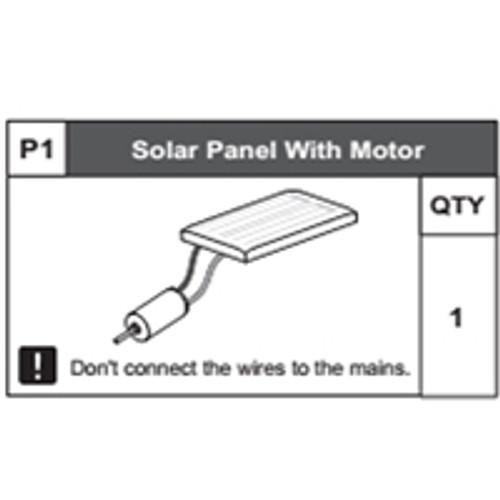 01-68300P1 Solar Panel With Motor