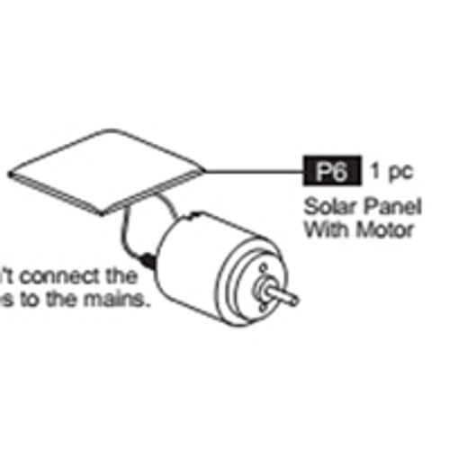 06-68100P6 Solar Panel With Motor