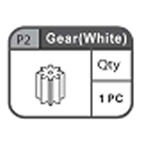 02-67200P2 Pinion Gear (White)