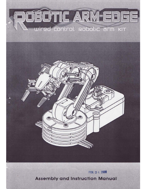 Robotic Arm Edge Manual
