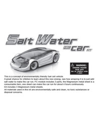 Salt Water Fuel Cell Car Manual