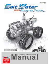 Salt Water Fuel Cell Monster Truck Manual