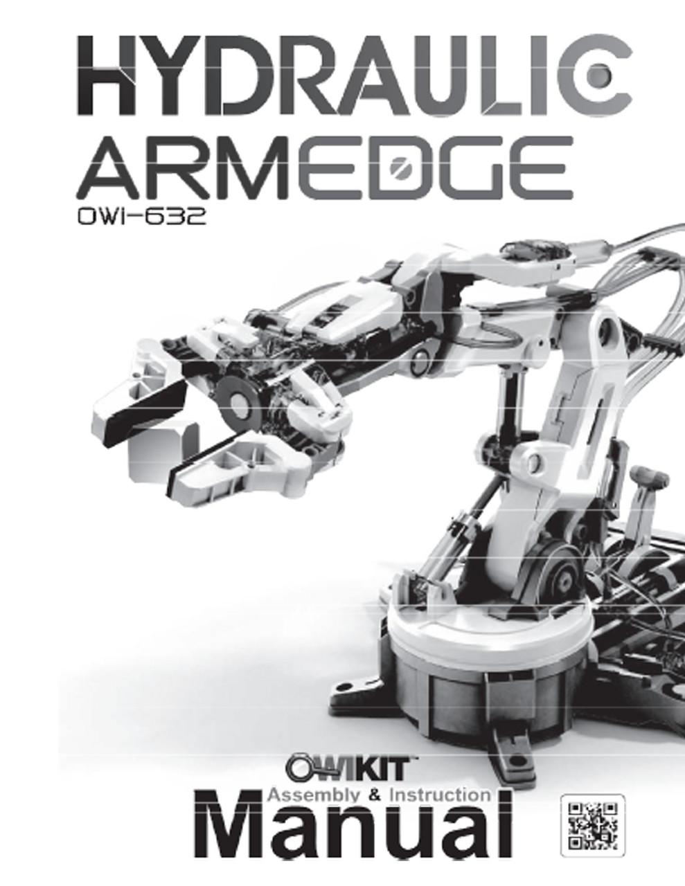 Hydraulic Loading Arms : Hydraulic arm edge manual robotikits direct