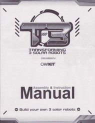 T3 Transforming Solar Robot Manual