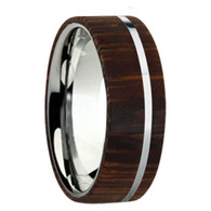 8 mm Exotic Wood in Titanium - K109M-Marblewood