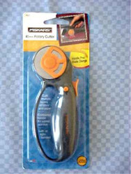 Fiskars 45mm Rotary Cutter Comes Brand New in Sealed Package Includes Manufacturers Limited Lifetime Warranty