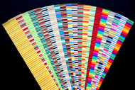 "Stripes Fabric Jelly Roll Strip Pack -20 Strips, Die Cut, No Duplicates. 100% top quality cotton fabric. 20 Different fabrics, 1 strip of each. Strips measure 2.5"" x width of fabric (42/44"" approx). Strips are folded and shipped flat."
