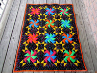 """""""Party Time"""" Lap Quilt Kit - 40"""" x 52"""" Approx Finished Size"""