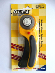 Olfa brand Deluxe Rotary Cutter RTY-2/DX (Olfa 9654)