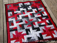 Windmills At Night Lap Quilt