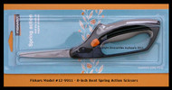 Fiskars Easy Action Scissors #8 Spring Assist Bent Softgrip Handle   Model 9911