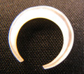 Mother of pearl, small septum pincher - 12g - 8g, shell, MOP, nose jewelry