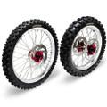 Hardcore Complete Wheel Set - Honda CR250/CRF450