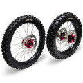 Hardcore Complete Wheel Set - Honda CR125/CRF250