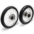 Hardcore Complete Wheel Set - Kawasaki KX250/450F
