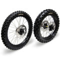Hardcore Complete Wheel Set - Kawasaki KX125/250F