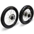 Hardcore Complete Wheel Set - Suzuki RMZ250