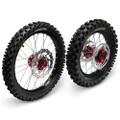 Hardcore Complete Wheel Set - Honda CRF150R - BW