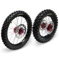 Hardcore Complete Wheel Set - Honda CRF150R - BW
