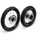 Hardcore Complete Wheel Set - Suzuki RM85 - BW