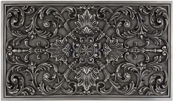 Decorative Metal Plaque Ravenna 13 50 X 23 25