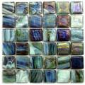 Hakatai Calliope Garden 0.625 x 0.625 Glass Mosaic Tile