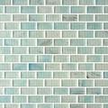 Caledonia brick glass tile amber series