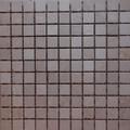 Crema marfil mosaic tumbled 1 x 1