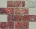 3x6 Multi color slate tile
