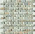 Spanish Moss Brick pattern slate mosaic