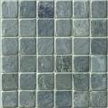 2x2 desert Green slate mosaic