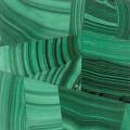 Malachite mosaic polished 2x2