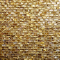 Shell mosaic Antique Gold brick patern